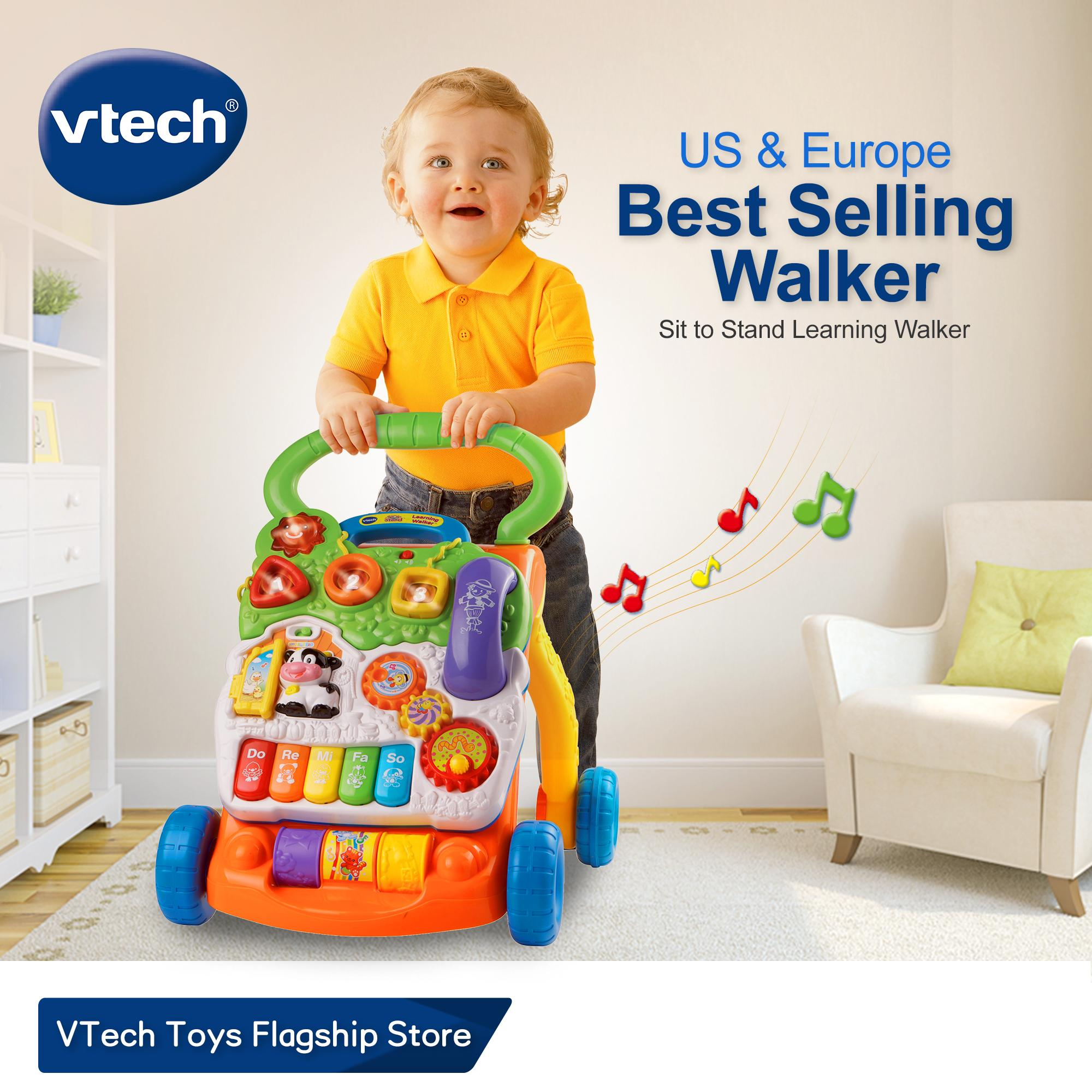VTeck Baby Push Walker Learning Toy